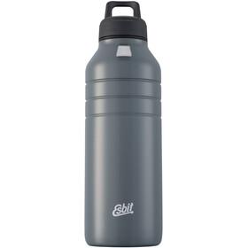 Esbit Majoris Drikkeflaske 1000ml, sølv/sort